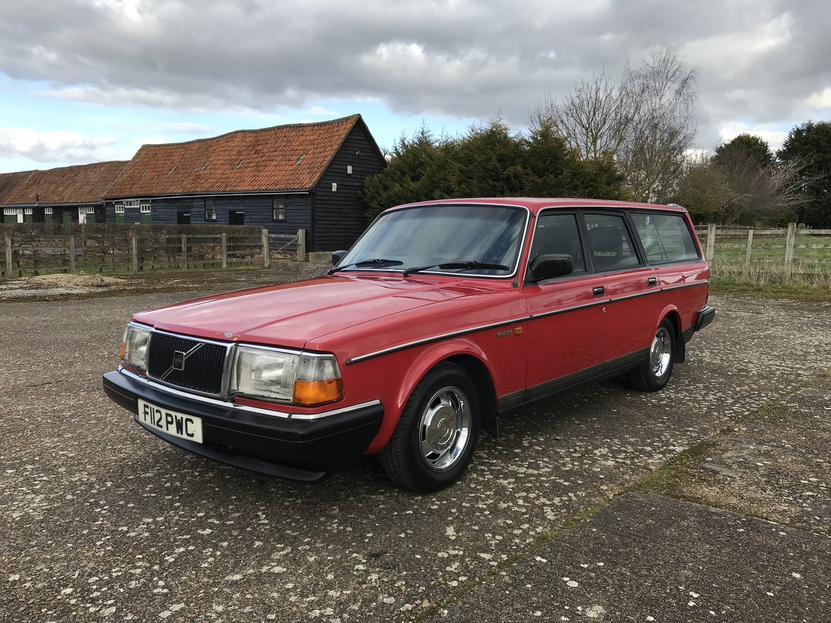 1989 Volvo 245GL SOLD (picture 4 of 6)