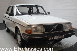 Volvo 240 DL Sedan 1985 Original 100,637 kilometers For Sale
