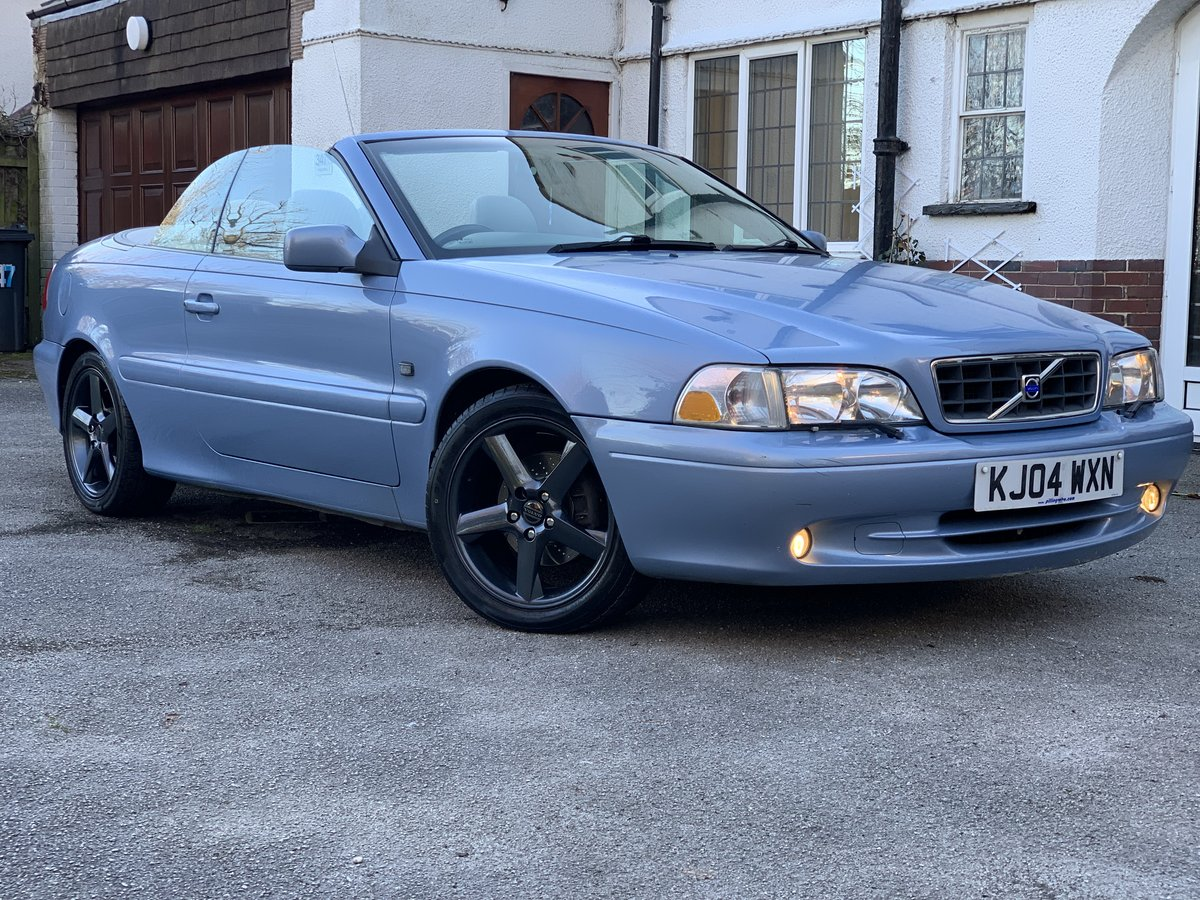 2004 Volvo C70 Gt convertible 20v turbo automatic  SOLD (picture 1 of 6)