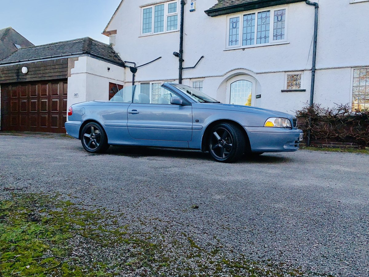 2004 Volvo C70 Gt convertible 20v turbo automatic  SOLD (picture 3 of 6)
