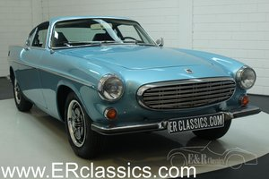 Volvo P 1800 E 1972 overdrive, Light Blue Metallic For Sale