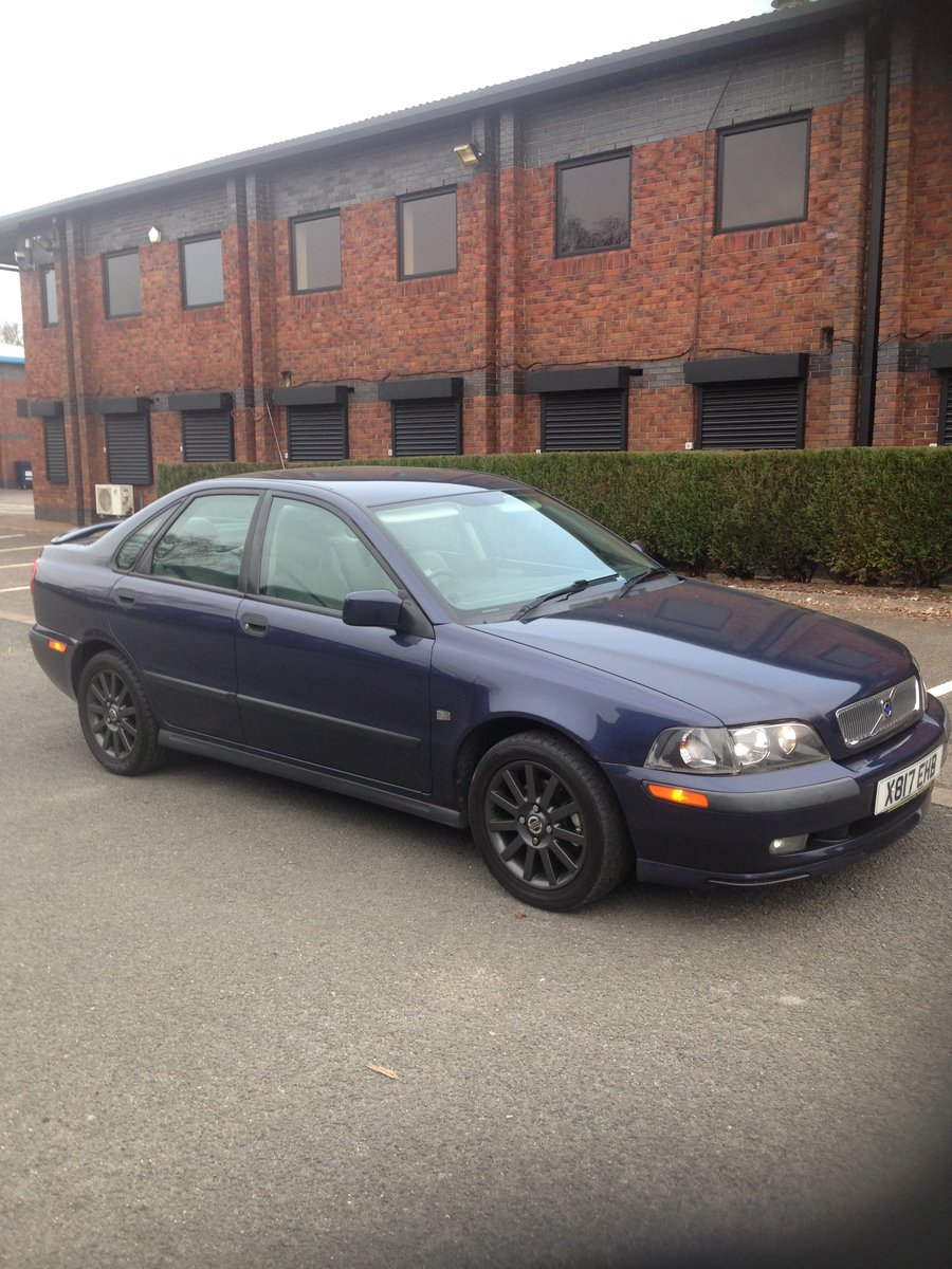 2001 Volvo S40 T4 S 56000 miles For Sale (picture 1 of 6)