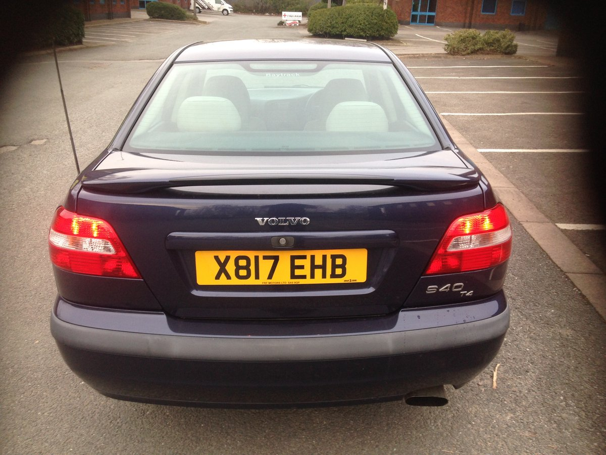 2001 Volvo S40 T4 S 56000 miles For Sale (picture 4 of 6)