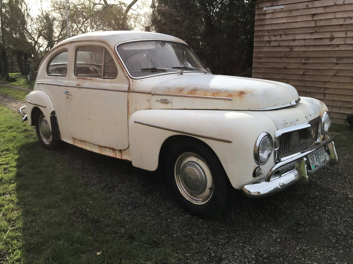 1959 VOLVO PV544 B16 SPORT. GREAT PATINA&DUTY PAID For Sale (picture 1 of 6)