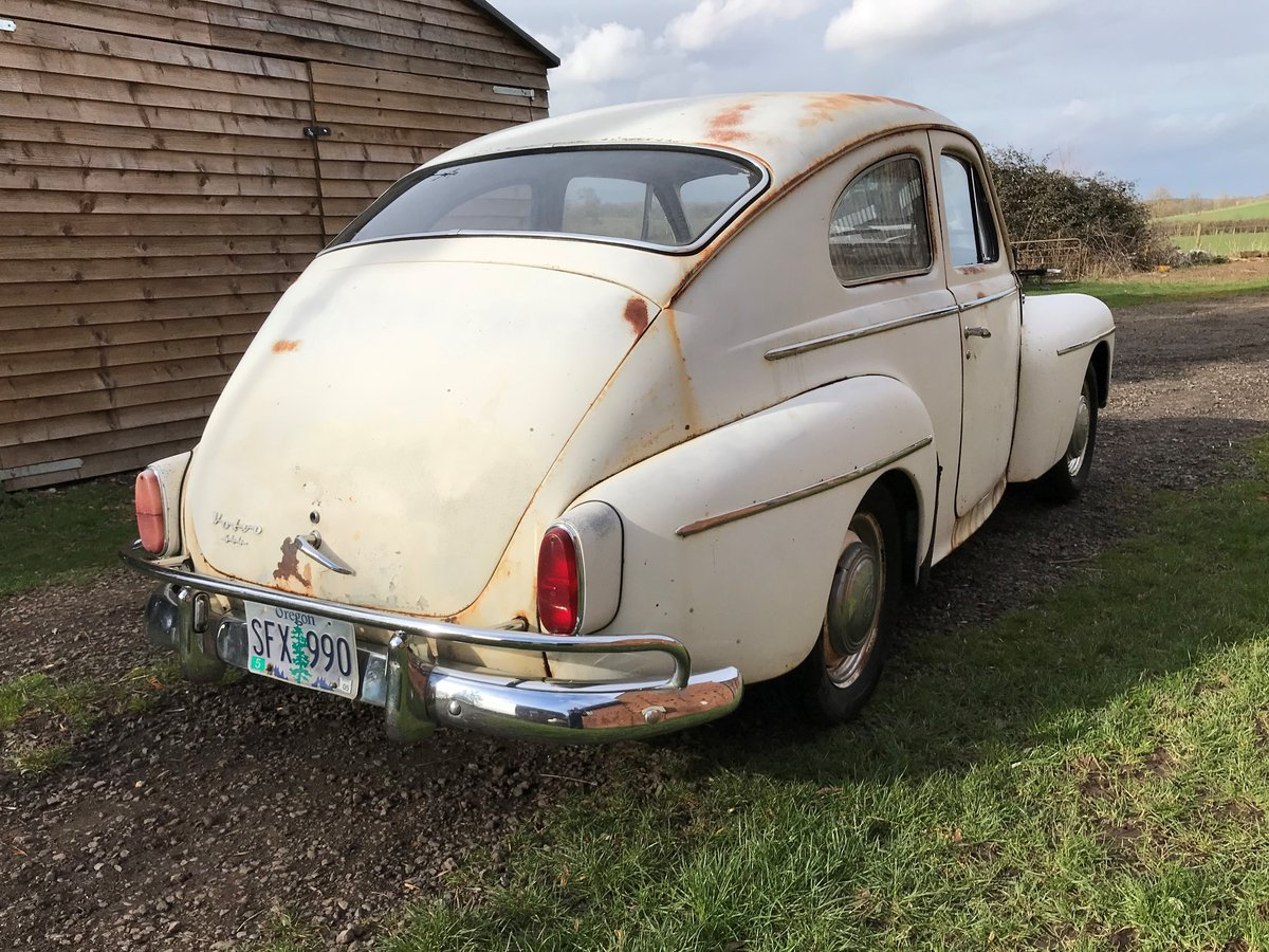 1959 VOLVO PV544 B16 SPORT. GREAT PATINA&DUTY PAID For Sale (picture 2 of 6)