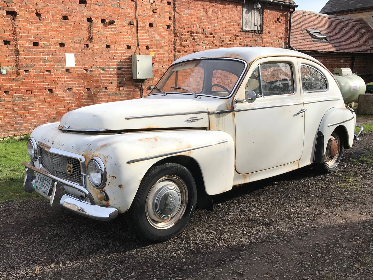 1959 VOLVO PV544 B16 SPORT. GREAT PATINA&DUTY PAID For Sale (picture 3 of 6)