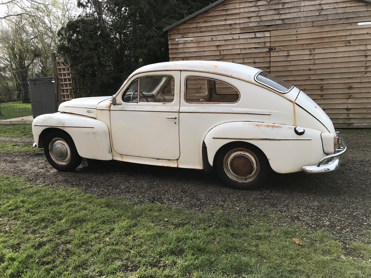 1959 VOLVO PV544 B16 SPORT. GREAT PATINA&DUTY PAID For Sale (picture 4 of 6)