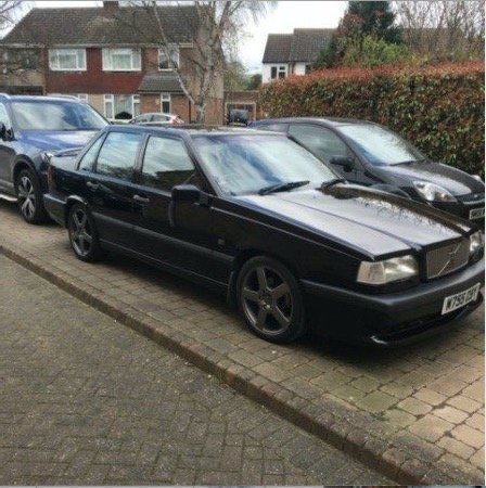 1995 For sale Volvo 850 T5-R saloon auto For Sale (picture 2 of 6)