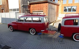 1967 Volvo Duett with trailer for sale