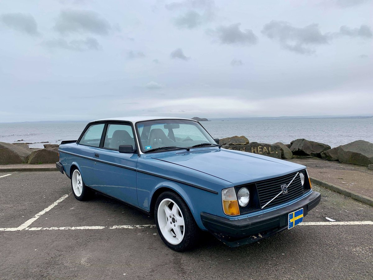 1982 Volvo 240  242 two door V8 Automatic For Sale (picture 1 of 6)