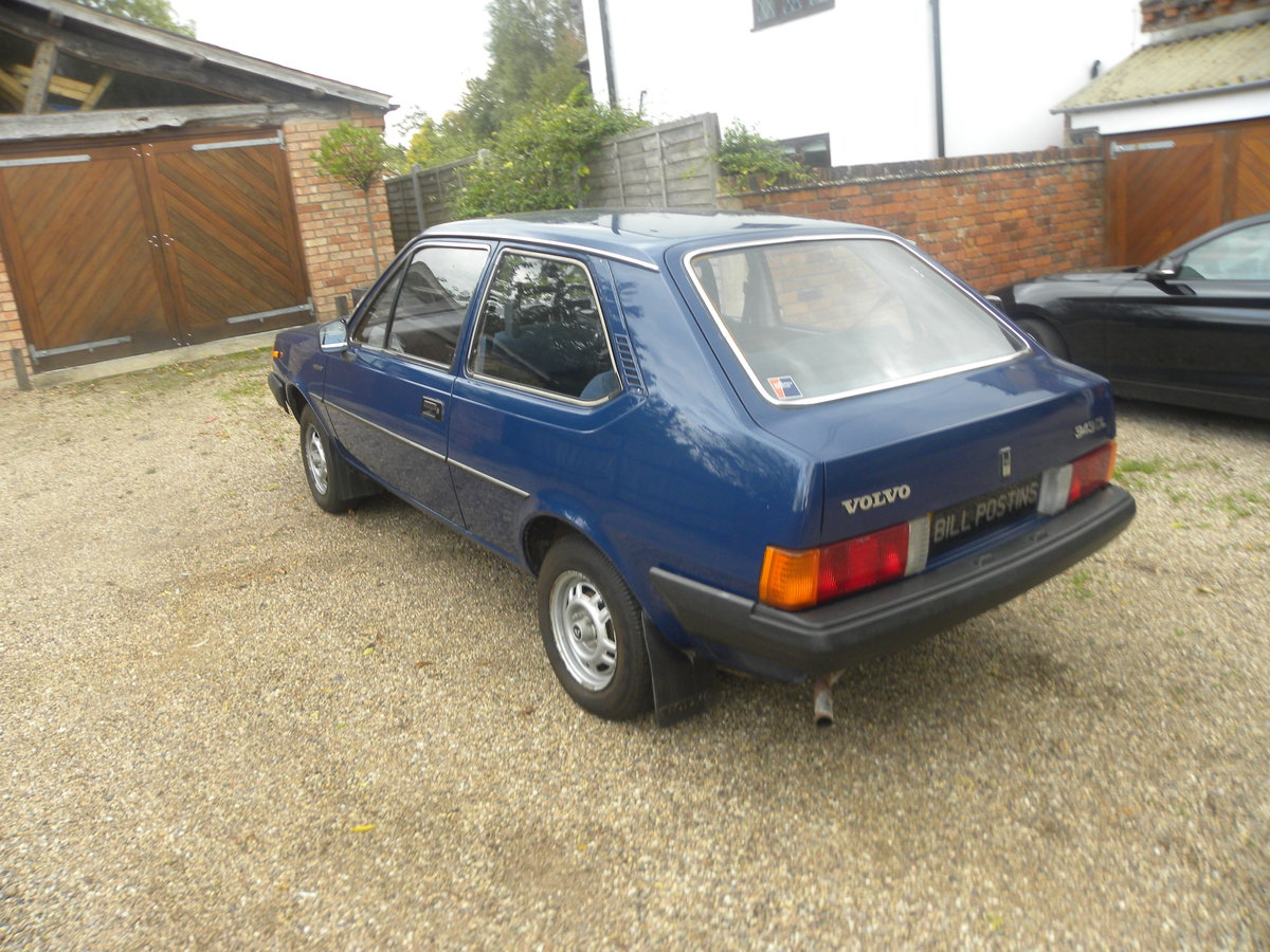 1981 VOLVO 343 DL.ONE LADY OWNER. 19000 MILES ONLY For Sale (picture 3 of 6)