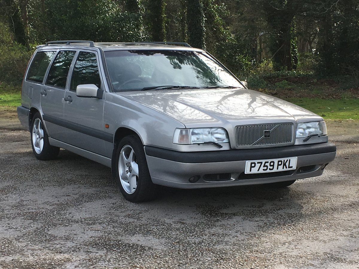 1997 VOLVO 850 2.5 GLT ESTATE. JUST 53,000 MILES For Sale (picture 1 of 6)