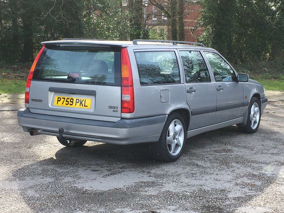 1997 VOLVO 850 2.5 GLT ESTATE. JUST 53,000 MILES For Sale (picture 3 of 6)
