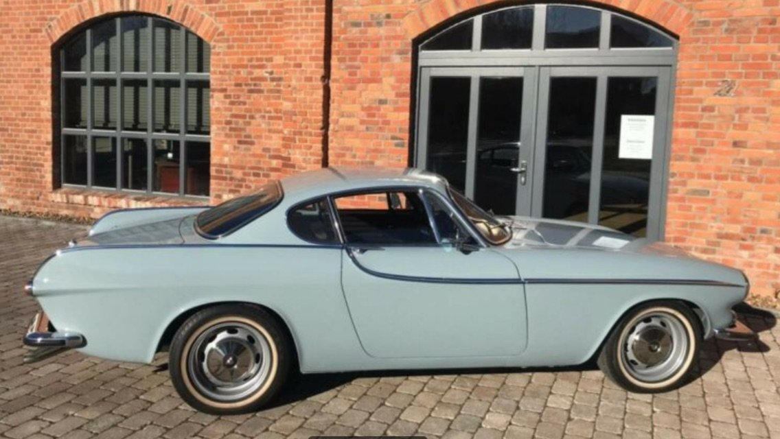1965 Beautiful Volvo P1800 S rare blue colour! For Sale (picture 1 of 6)
