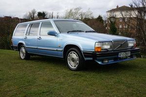 1987  VOLVO 760 GLE Estate 2.9 V6 Auto leather 39,000 miles For Sale