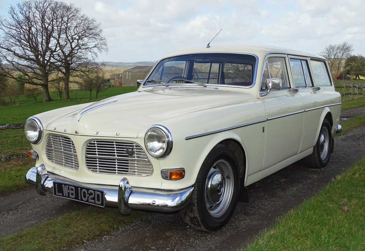 1966 Beautiful Volvo Amazon 121 Estate, Manual with overdrive. For Sale (picture 2 of 6)