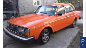 1977 Volvo 244GL For spares or repair £500 SALE For Sale