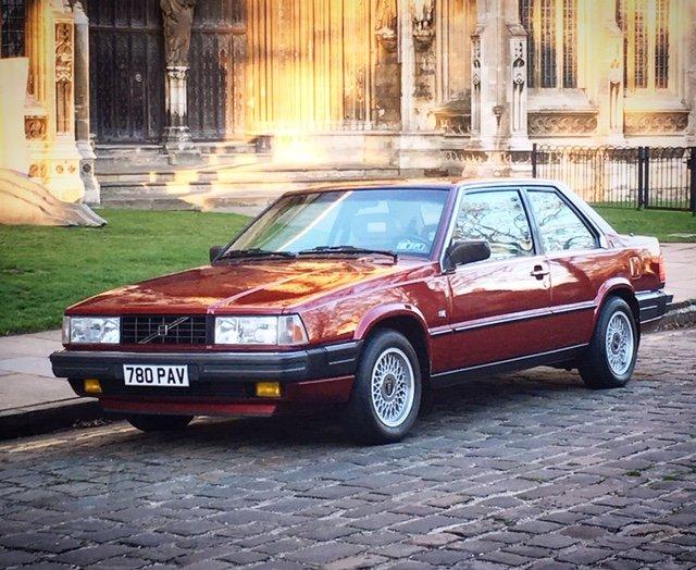 1990 Volvo Bertone 780 Coupe Turbo Auto 740 240 For Sale (picture 2 of 4)