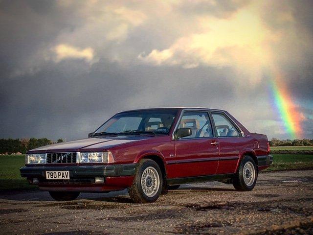 1990 Volvo Bertone 780 Coupe Turbo Auto 740 240 For Sale (picture 3 of 4)