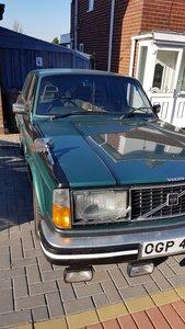 volvo 244gl auto 1980