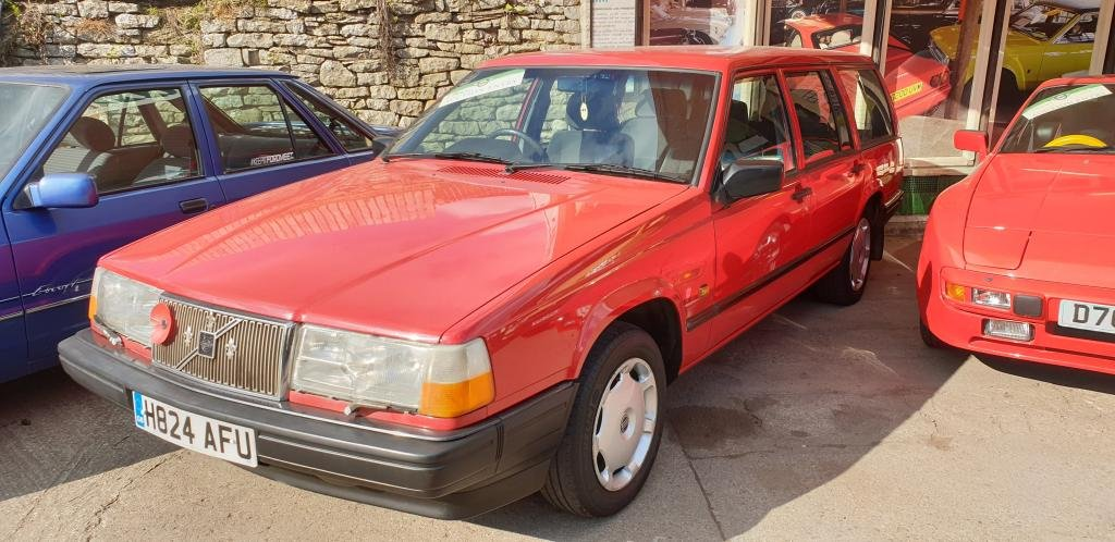 **APRIL AUCTION**1990 Volvo 940 GL Catalyser SOLD by Auction (picture 1 of 1)