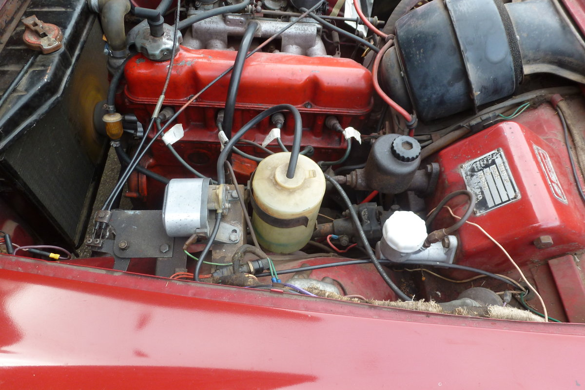 1965 Volvo P1800S rust free car For Sale (picture 4 of 6)