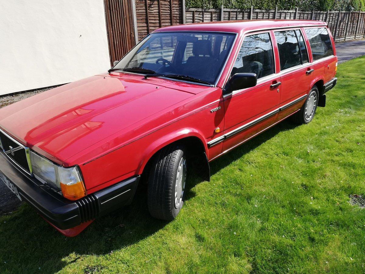 1988 Volvo 740GL estate cc auto Rare 7 seater FSH For Sale (picture 2 of 6)