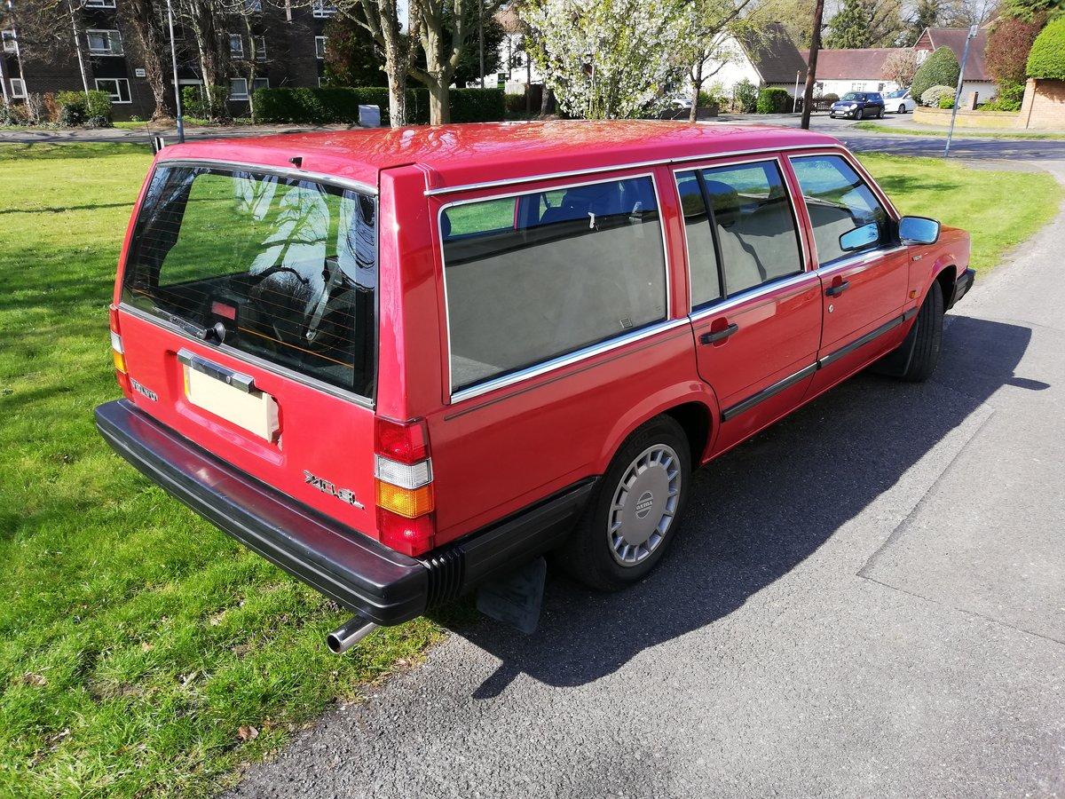 1988 Volvo 740GL estate cc auto Rare 7 seater FSH For Sale (picture 3 of 6)