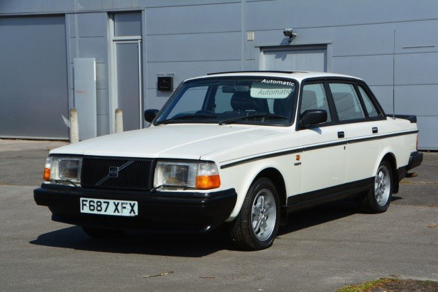 1989 Volvo 240 GLT Automatic For Sale by Auction (picture 1 of 1)