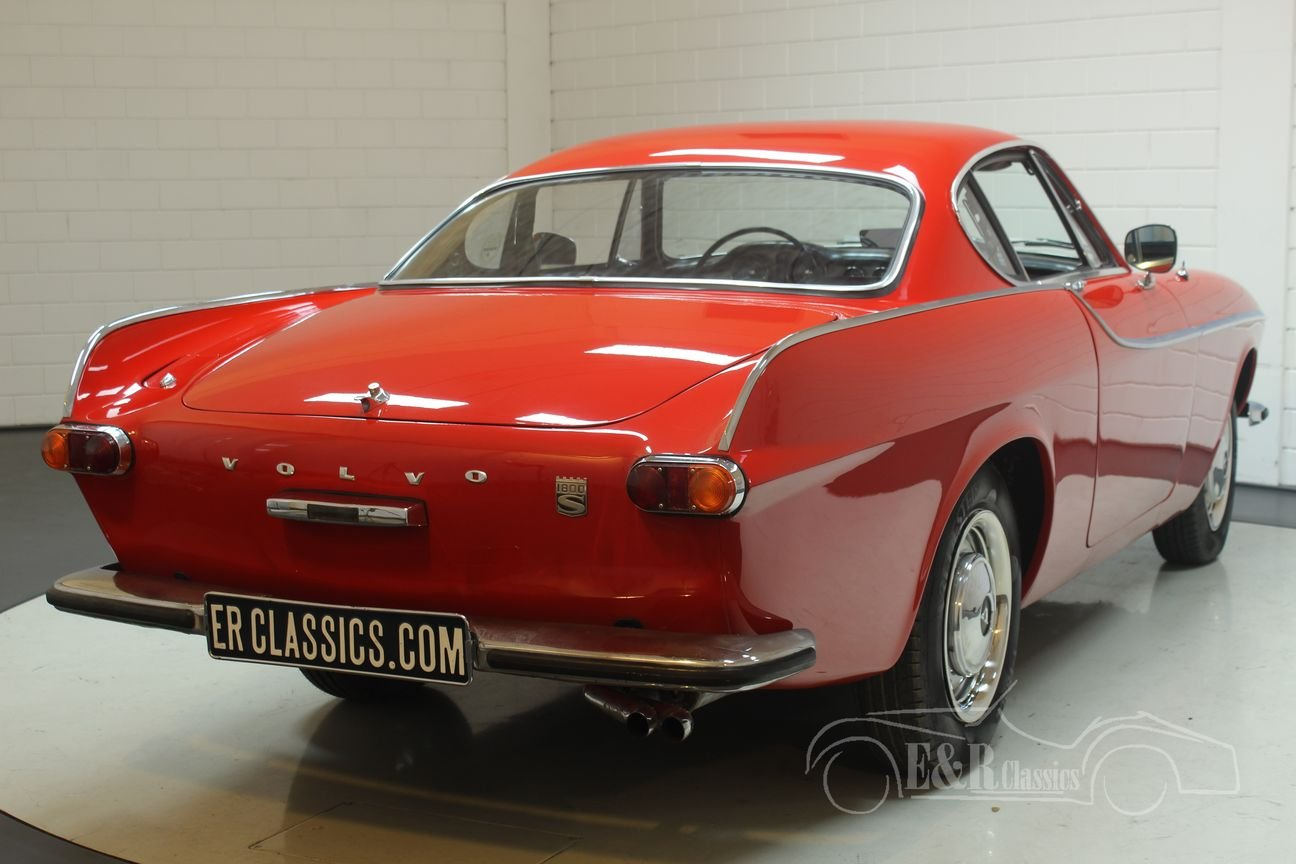 Volvo P1800S Coupe 1966 in very good condition For Sale (picture 5 of 6)