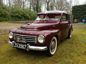 1954 Volvo PV 444 For Sale