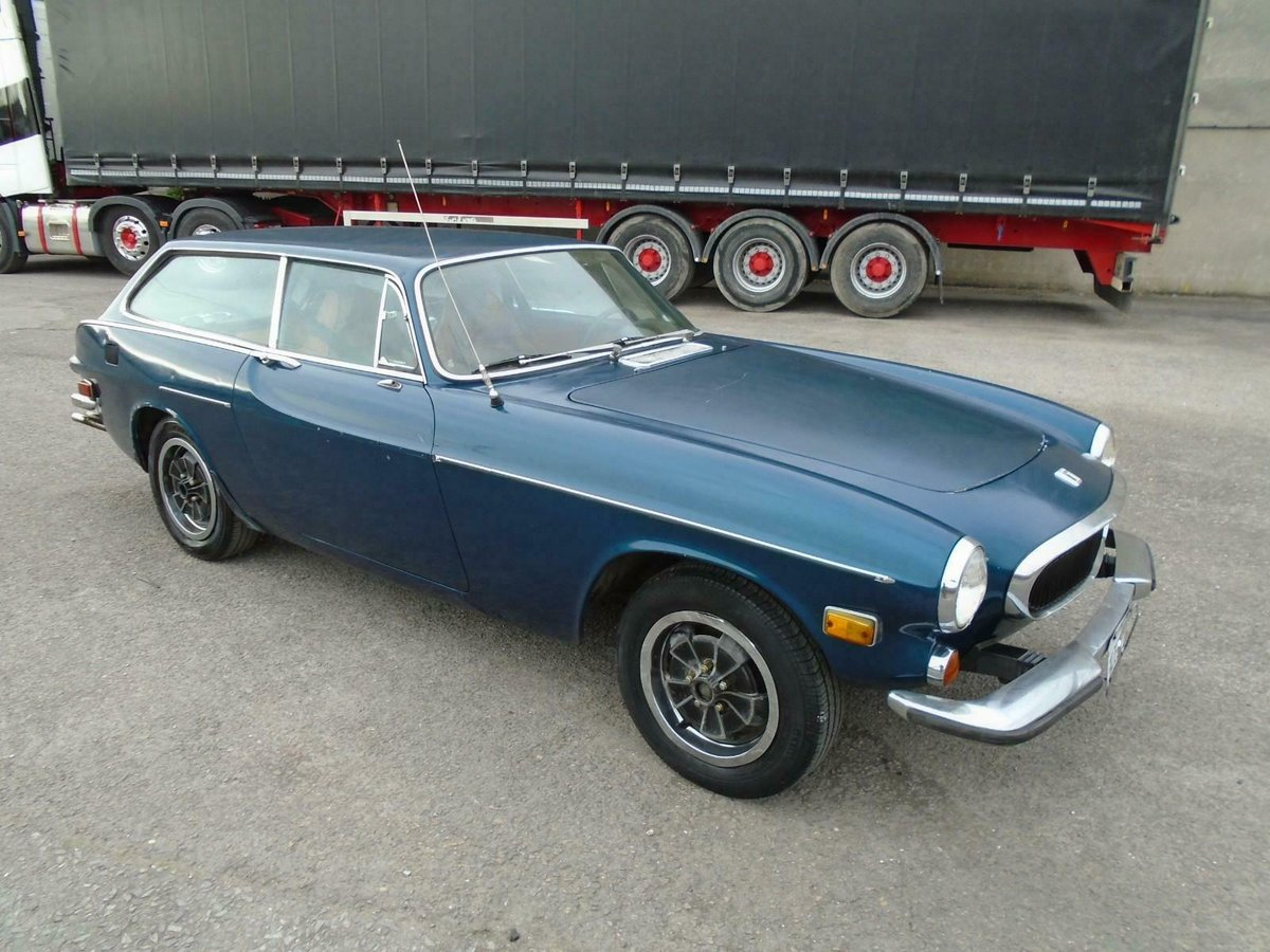 VOLVO P1800ES MANUAL COUPE LHD(1973)MET BLUE! 96% RUST FREE! SOLD (picture 1 of 6)