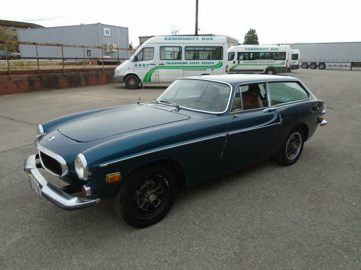 VOLVO P1800ES MANUAL COUPE LHD(1973)MET BLUE! 96% RUST FREE! SOLD (picture 2 of 6)