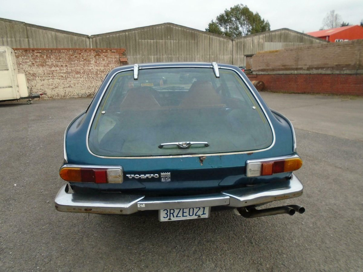 VOLVO P1800ES MANUAL COUPE LHD(1973)MET BLUE! 96% RUST FREE! SOLD (picture 5 of 6)