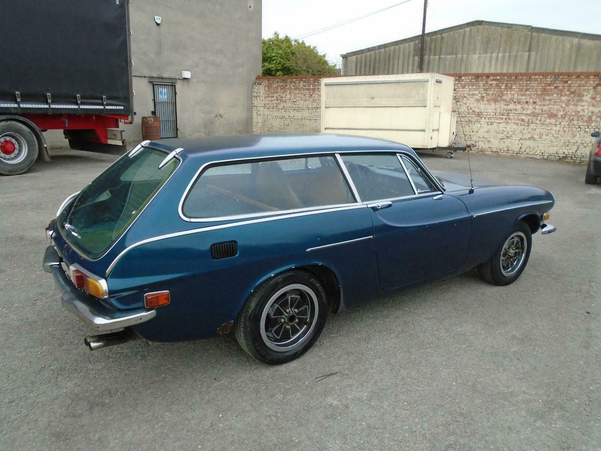 VOLVO P1800ES MANUAL COUPE LHD(1973)MET BLUE! 96% RUST FREE! SOLD (picture 6 of 6)