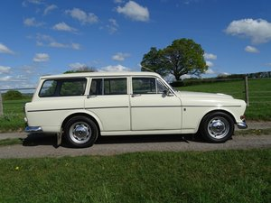 1966 Beautiful Volvo Amazon 121 Estate, Manual with overdrive. SOLD