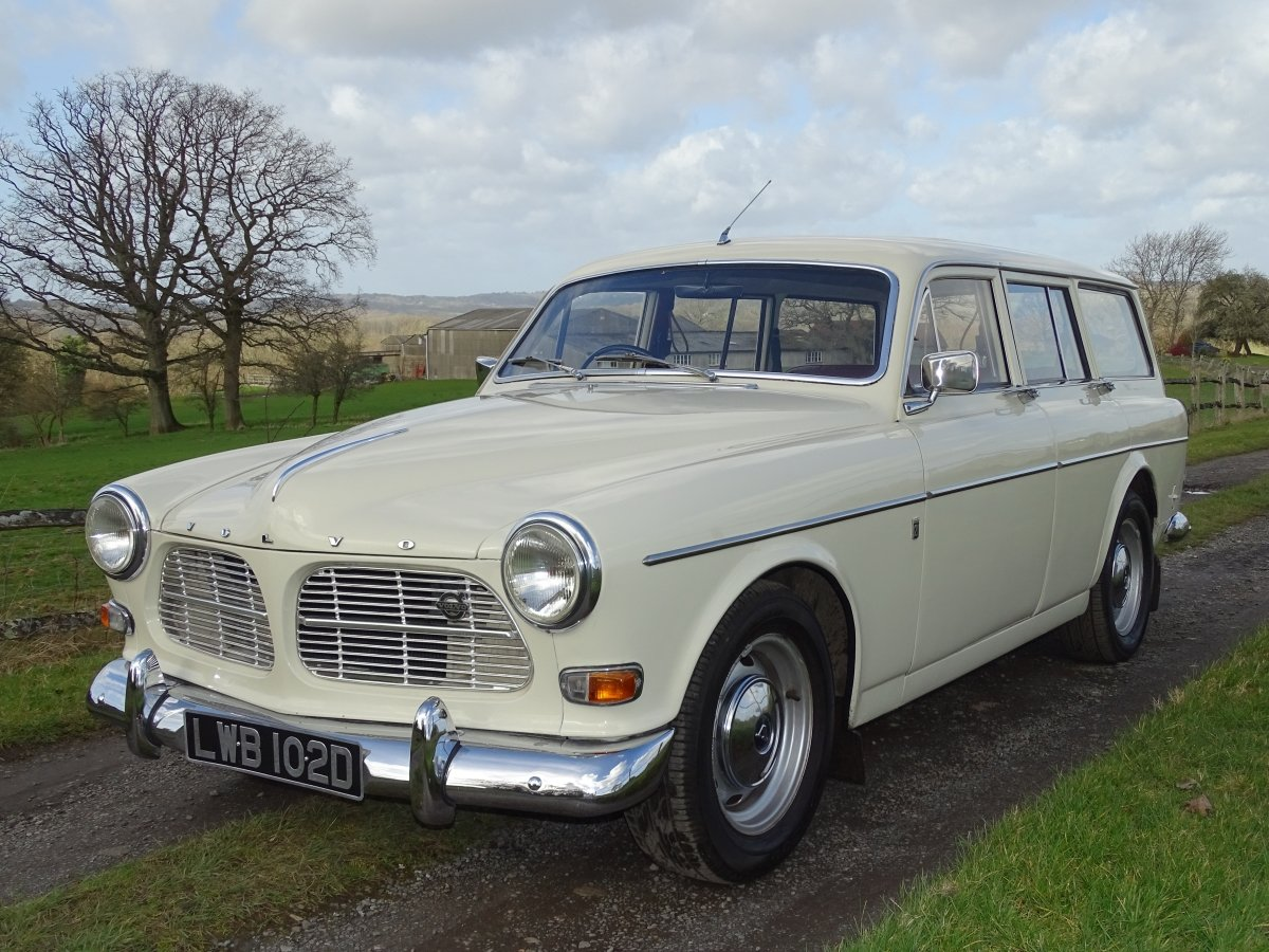 1966 Beautiful Volvo Amazon 121 Estate, Manual with overdrive. SOLD (picture 3 of 6)