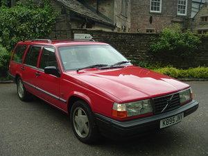 1993 93/K Volvo 940 2.3 TURBO ESTATE. 91000 Miles, Auto. FSH, A/C