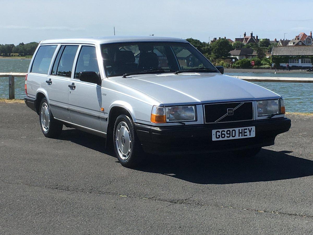1990 VOLVO 740 GLE 2.3 AUTO ESTATE. 41,000 MILES.  For Sale (picture 1 of 6)