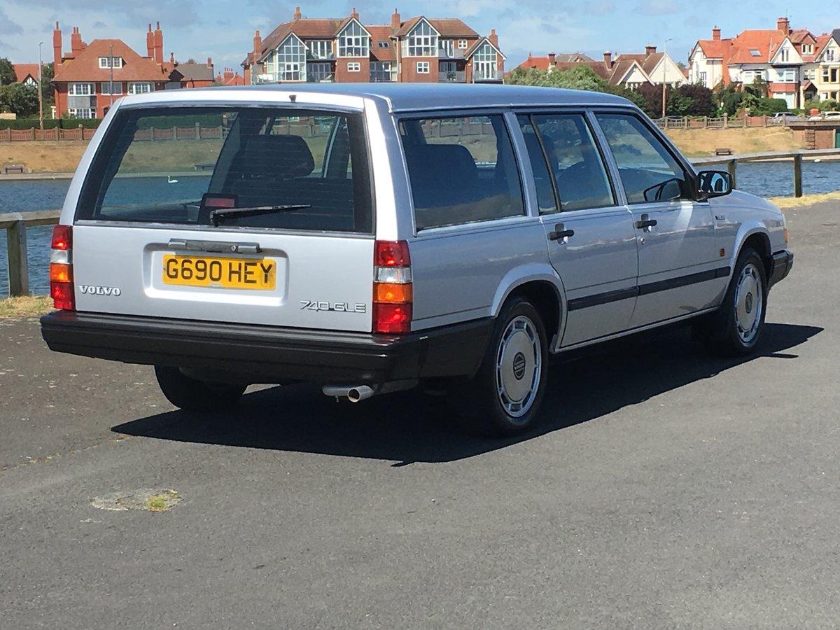 1990 VOLVO 740 GLE 2.3 AUTO ESTATE. 41,000 MILES.  For Sale (picture 2 of 6)