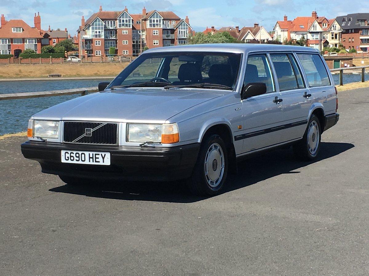1990 VOLVO 740 GLE 2.3 AUTO ESTATE. 41,000 MILES.  For Sale (picture 3 of 6)
