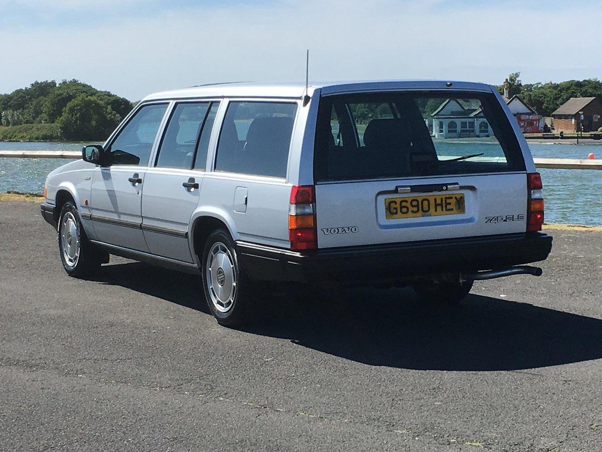 1990 VOLVO 740 GLE 2.3 AUTO ESTATE. 41,000 MILES.  For Sale (picture 4 of 6)