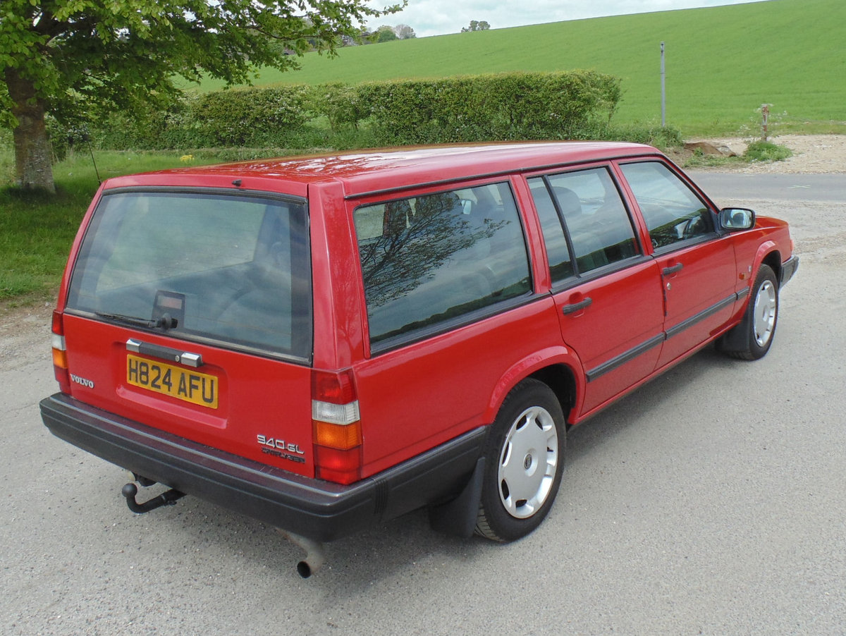 1990 Volvo 940GL Automatic Estate SOLD (picture 3 of 6)