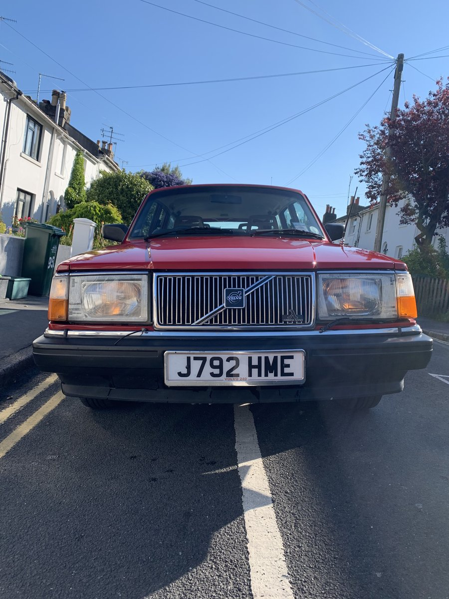 1992 Volvo 240great condition For Sale (picture 2 of 6)