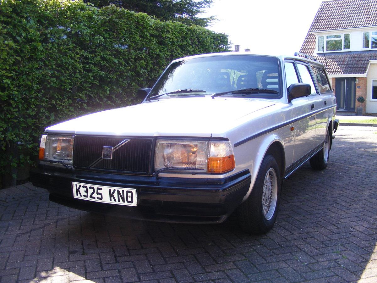 1993 Volvo 240 Torslanda Estate SOLD (picture 1 of 6)