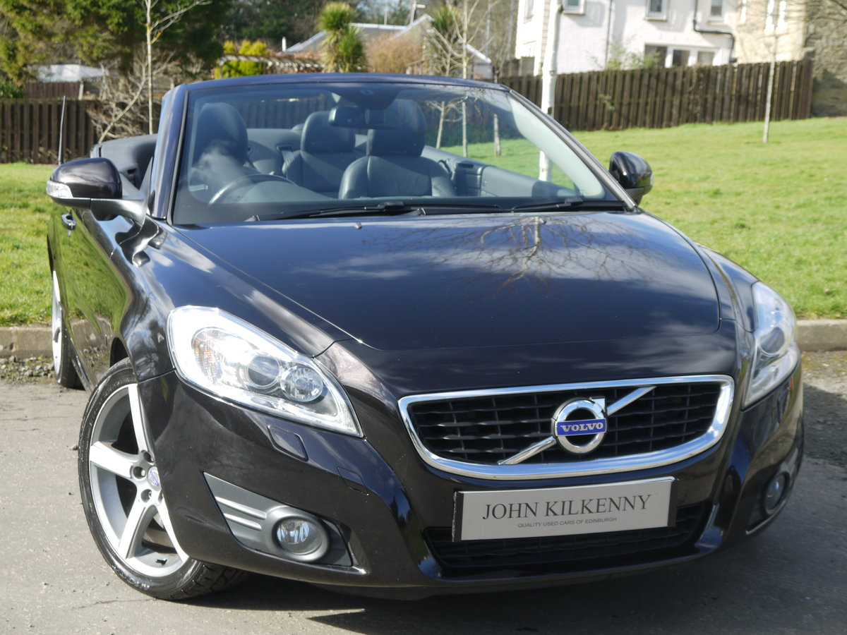 2010 VOLVO C70 2.0 D4 SE LUX AUTO VERY DESIRABLE TIN TOP CONVER For Sale (picture 1 of 6)