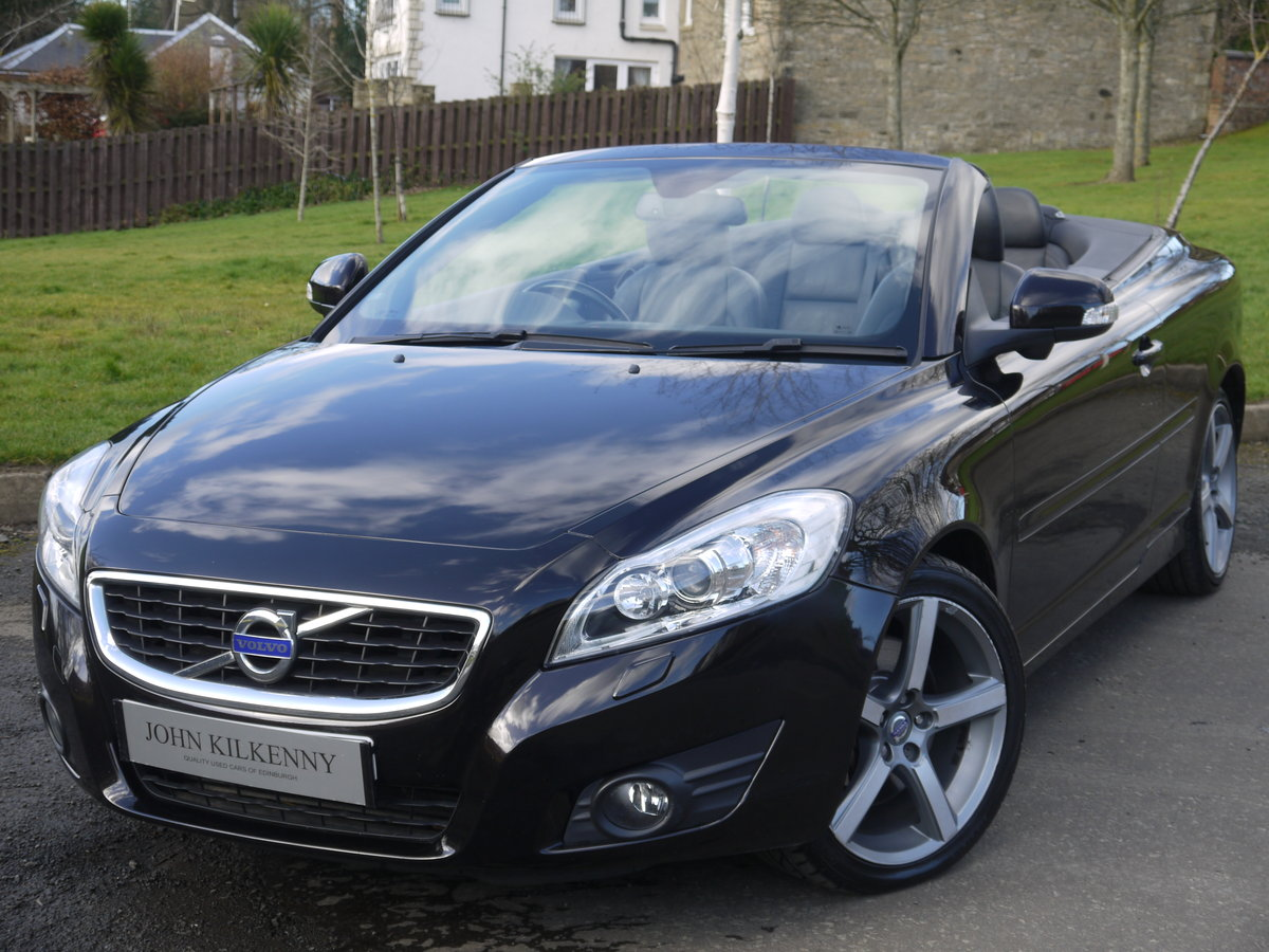2010 VOLVO C70 2.0 D4 SE LUX AUTO VERY DESIRABLE TIN TOP CONVER For Sale (picture 2 of 6)