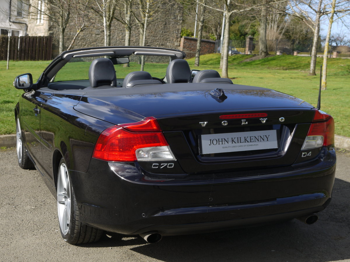 2010 VOLVO C70 2.0 D4 SE LUX AUTO VERY DESIRABLE TIN TOP CONVER For Sale (picture 3 of 6)