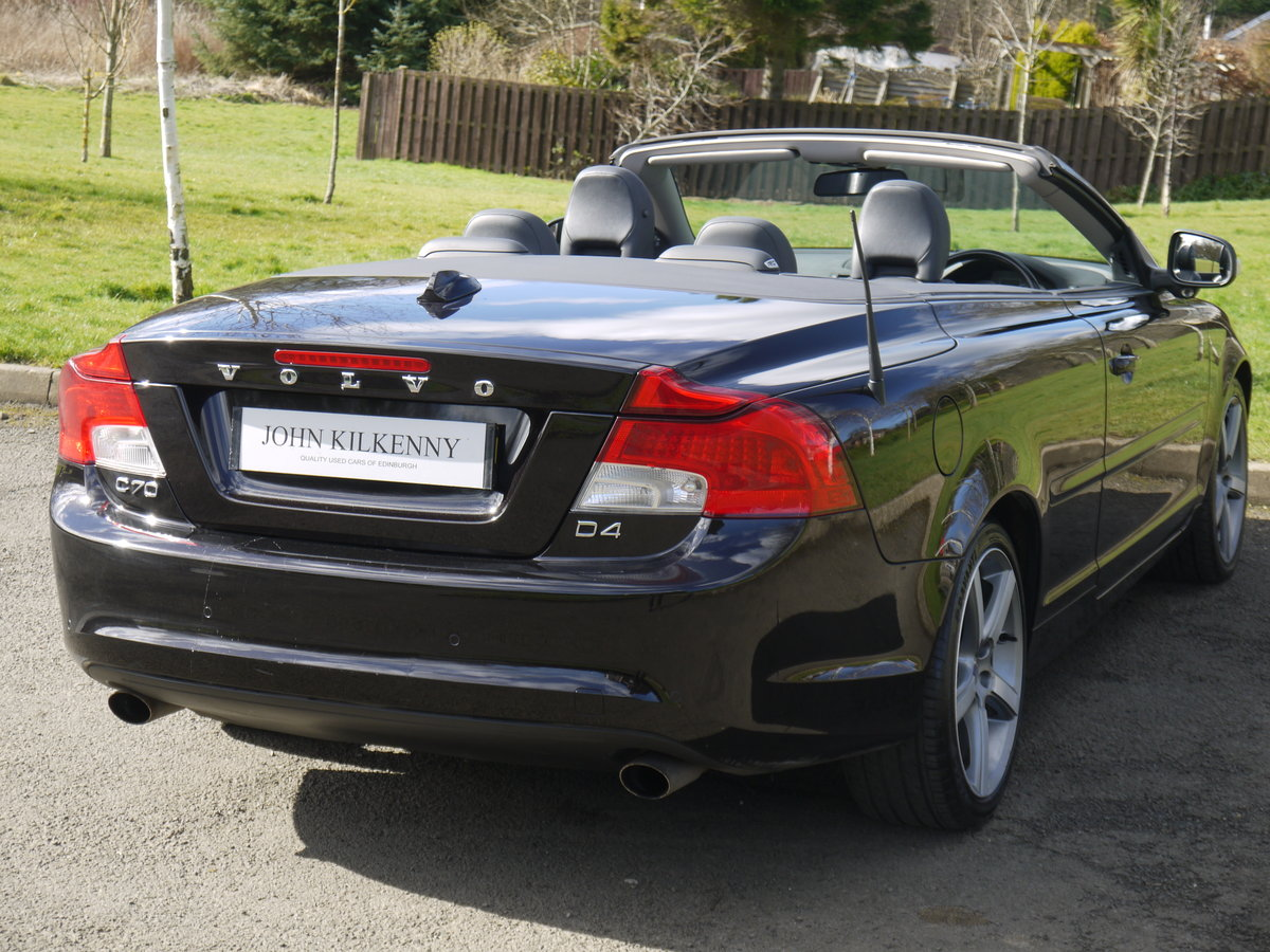 2010 VOLVO C70 2.0 D4 SE LUX AUTO VERY DESIRABLE TIN TOP CONVER For Sale (picture 4 of 6)