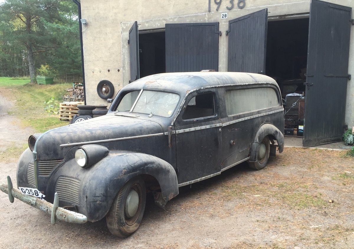 1948 Volvo PV61 Hearse PV60 For Sale (picture 1 of 6)